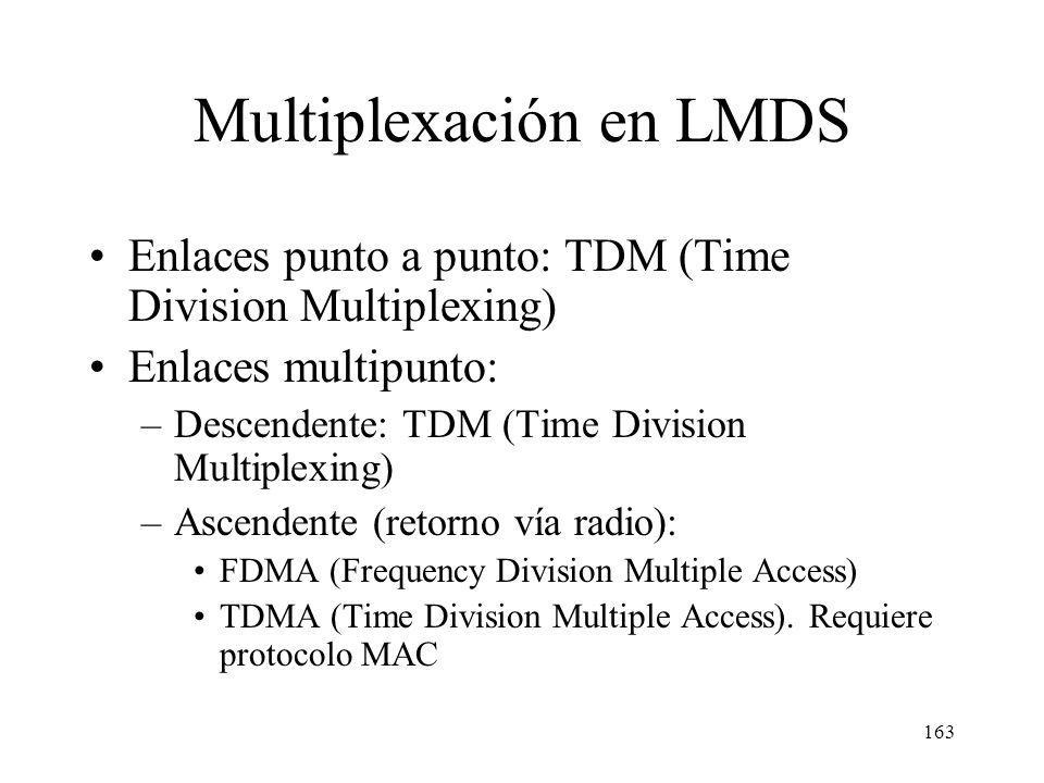 Multiplexación en LMDS