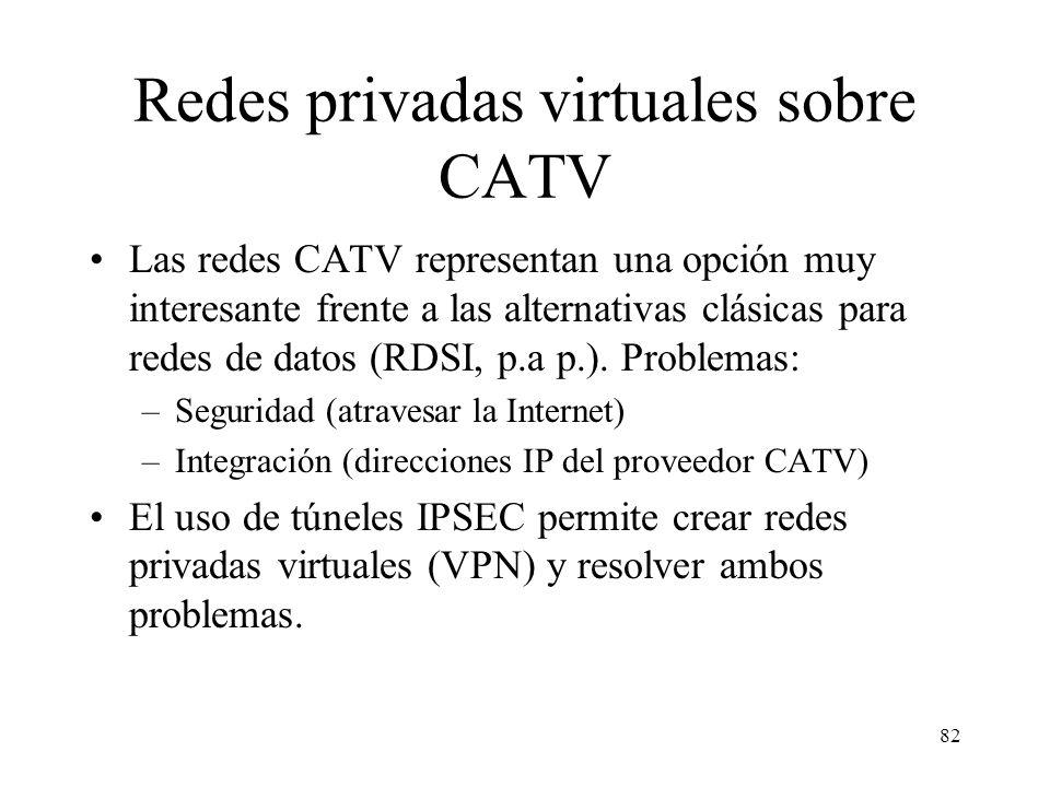 Redes privadas virtuales sobre CATV