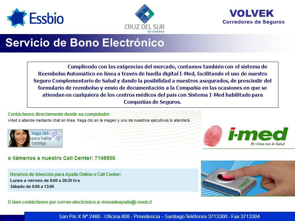 Servicio de Bono Electrónico
