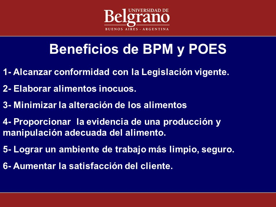 Beneficios de BPM y POES