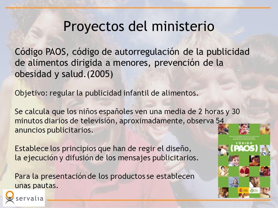 Proyectos del ministerio