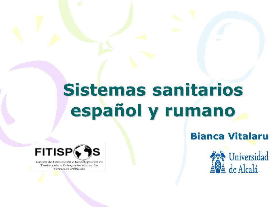 Sistemas sanitarios español y rumano