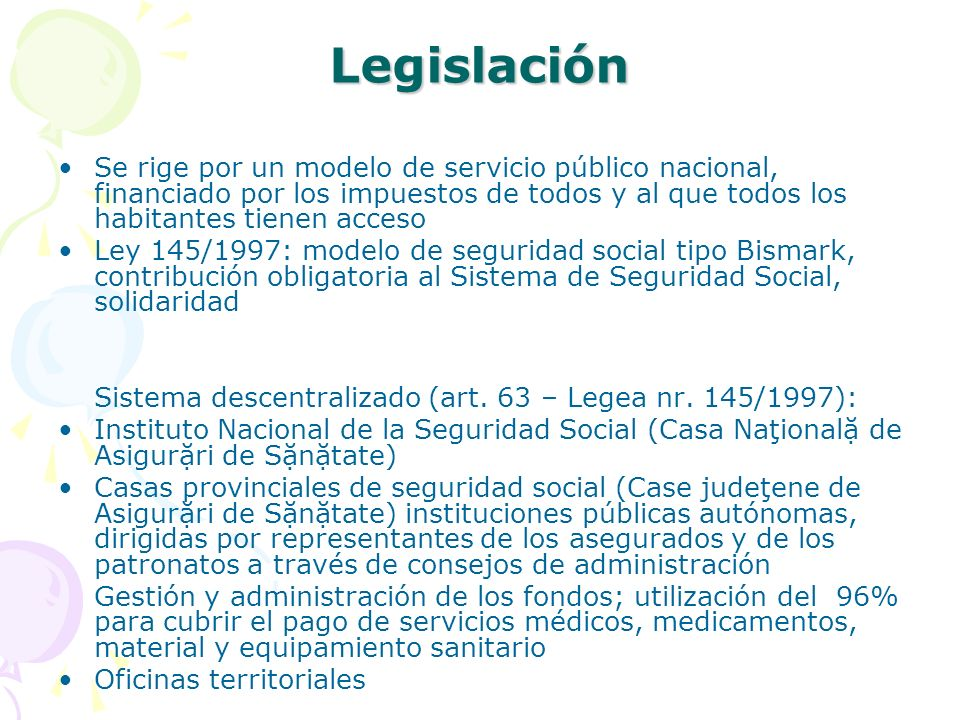 LegislaciónSe rige por un modelo de servicio público nacional, financiado por los impuestos de todos y al que todos los habitantes tienen acceso.