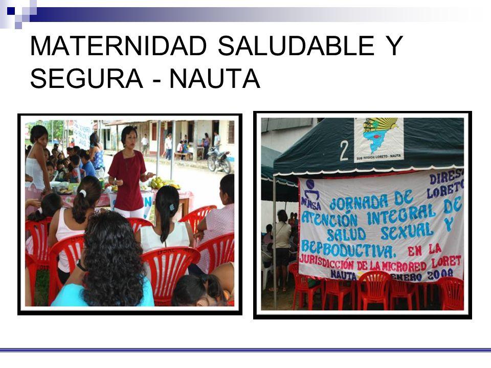 MATERNIDAD SALUDABLE Y SEGURA - NAUTA