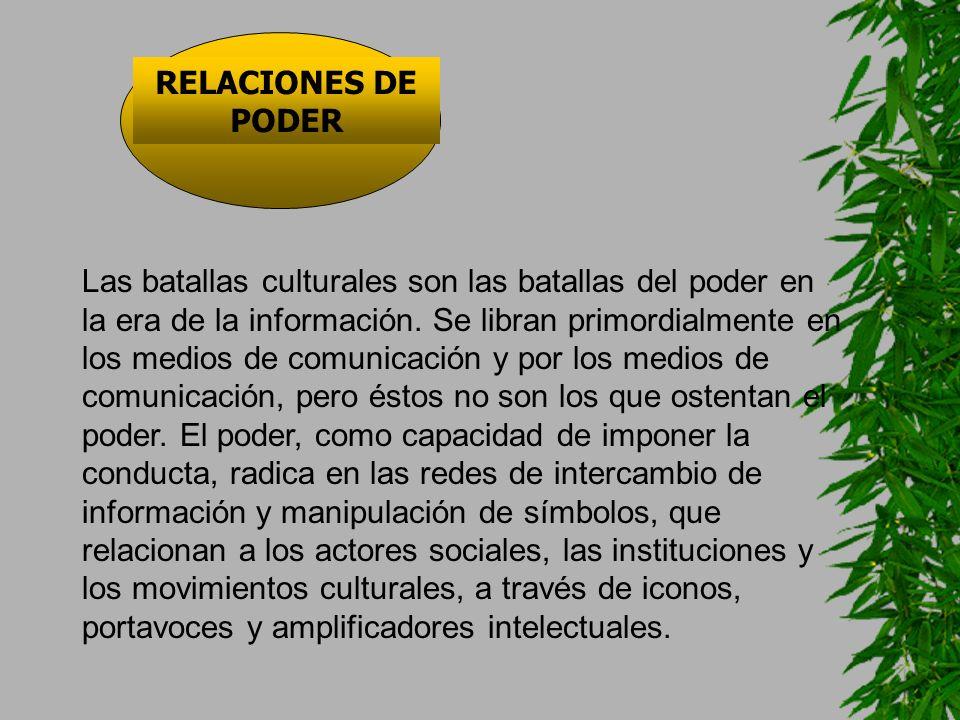 RELACIONES DE PODER