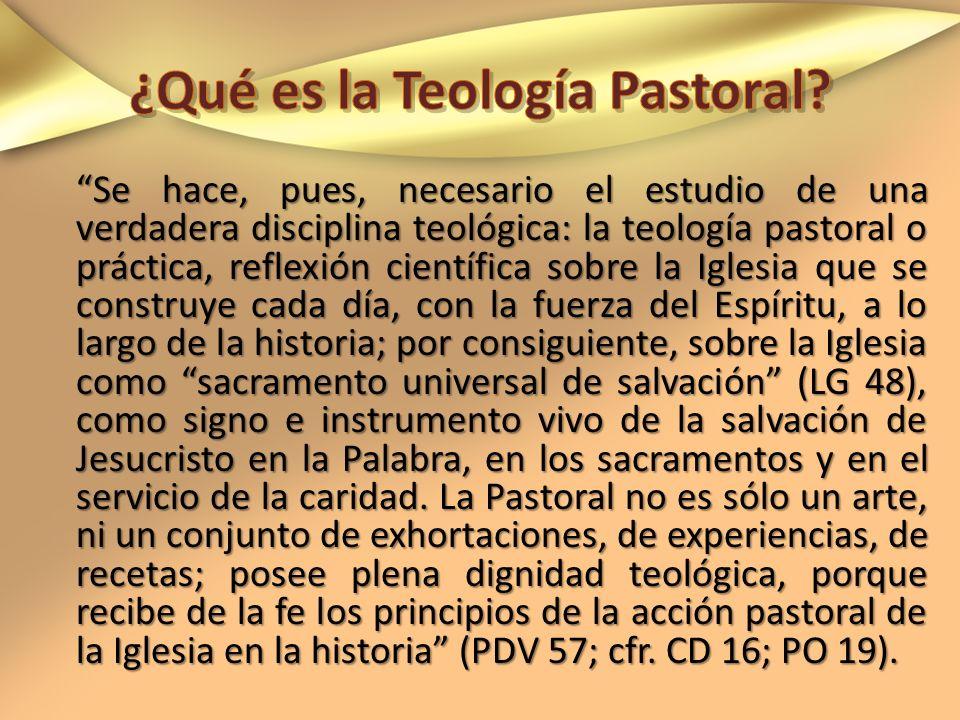 ¿Qué es la Teología Pastoral