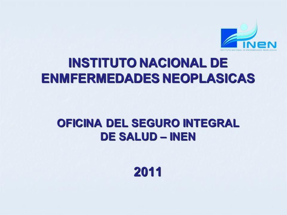 INSTITUTO NACIONAL DE ENMFERMEDADES NEOPLASICAS 2011