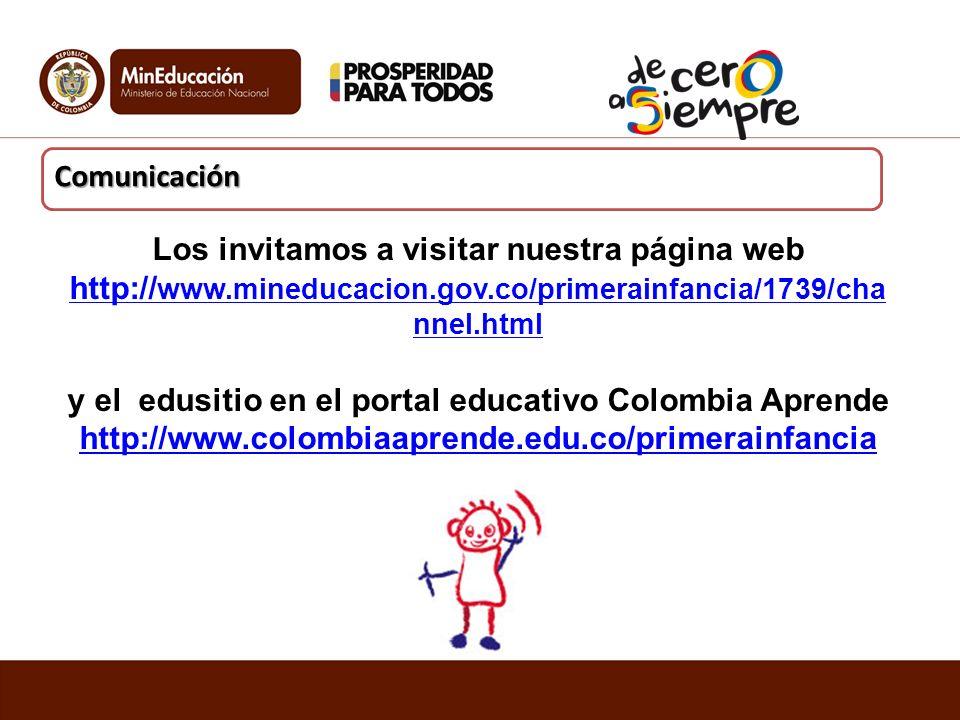 y el edusitio en el portal educativo Colombia Aprende
