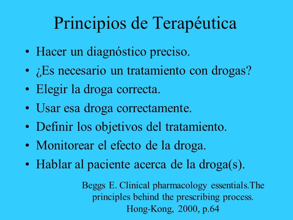 Principios de Terapéutica