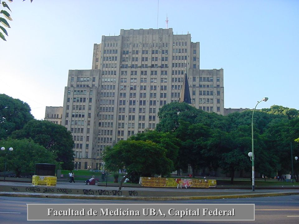Facultad de Medicina UBA, Capital Federal