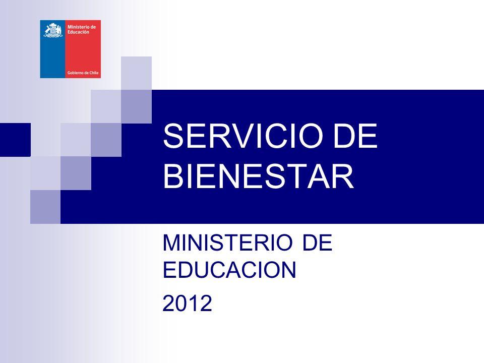 MINISTERIO DE EDUCACION 2012