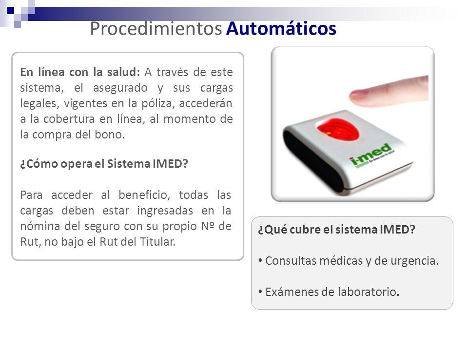 Procedimientos Automáticos
