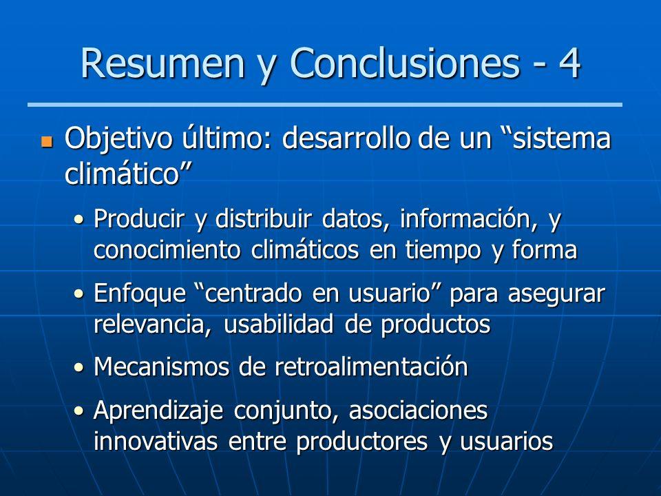 Resumen y Conclusiones - 4