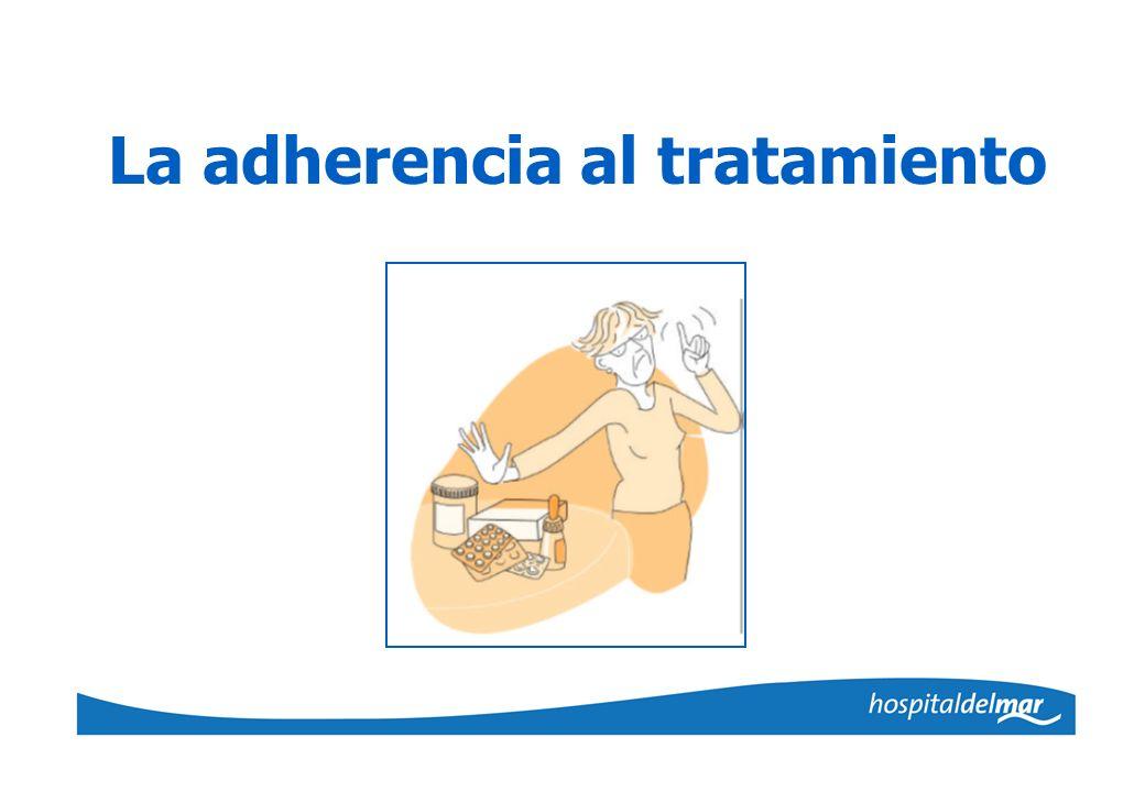 La adherencia al tratamiento