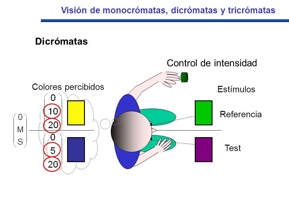 Dicrómatas Control de intensidad