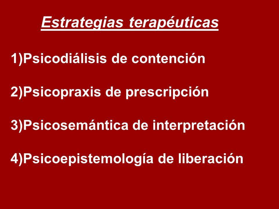 Estrategias terapéuticas