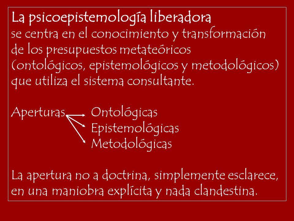 La psicoepistemología liberadora