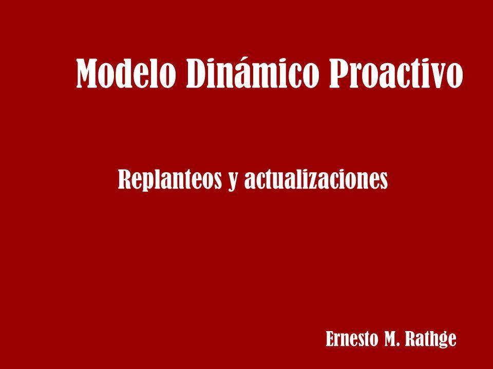 Modelo Dinámico Proactivo