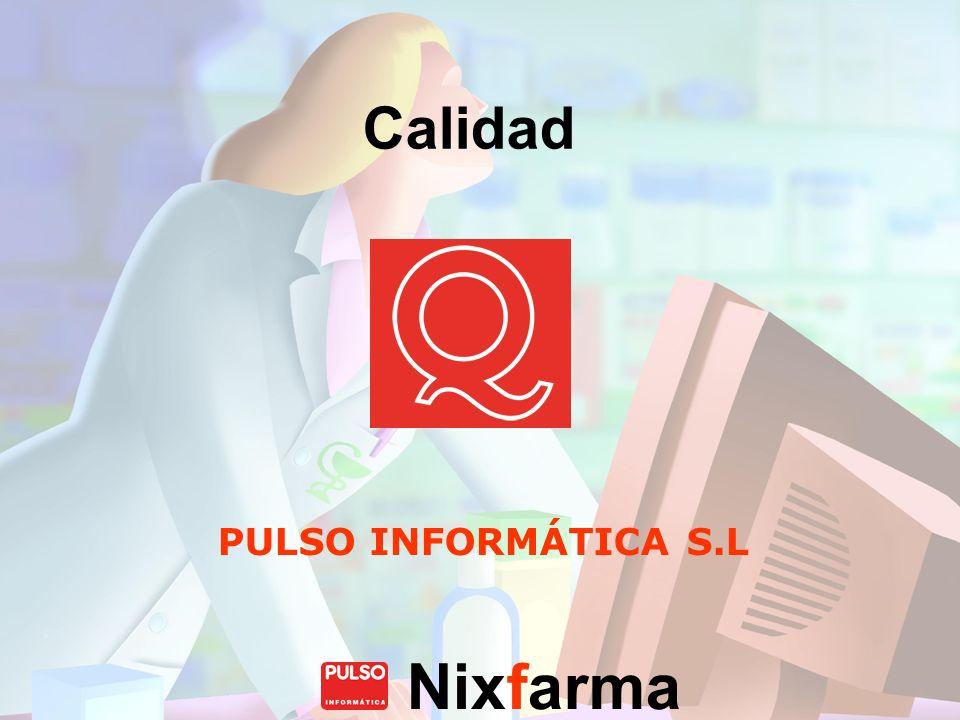 Calidad PULSO INFORMÁTICA S.L