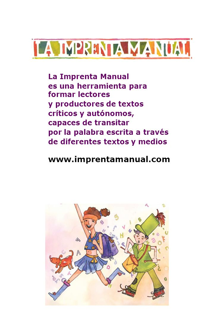 www.imprentamanual.com La Imprenta Manual