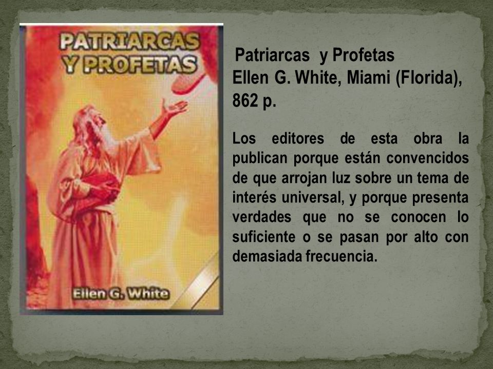 Ellen G. White, Miami (Florida), 862 p.