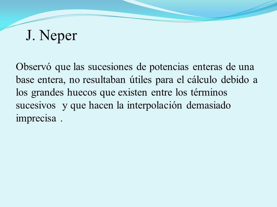 J. Neper