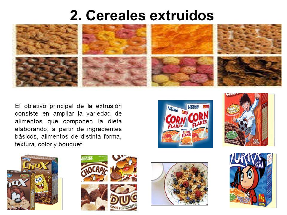 2. Cereales extruidos