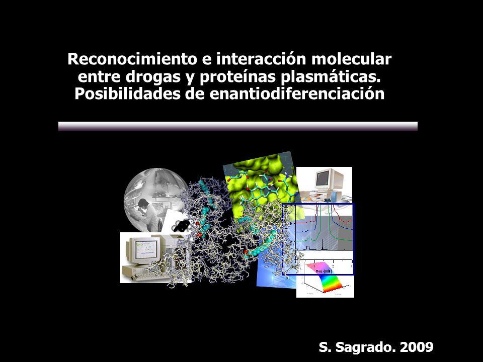 Reconocimiento e interacción molecular entre drogas y proteínas plasmáticas. Posibilidades de enantiodiferenciación