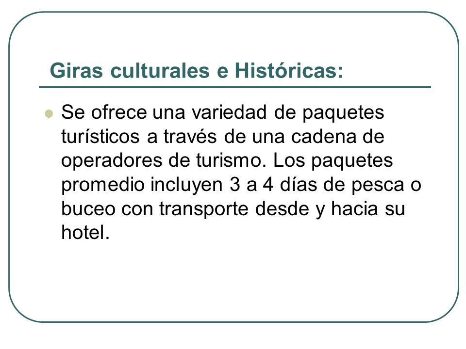 Giras culturales e Históricas:
