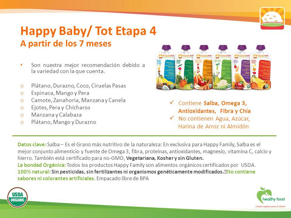 Happy Baby/ Tot Etapa 4 A partir de los 7 meses