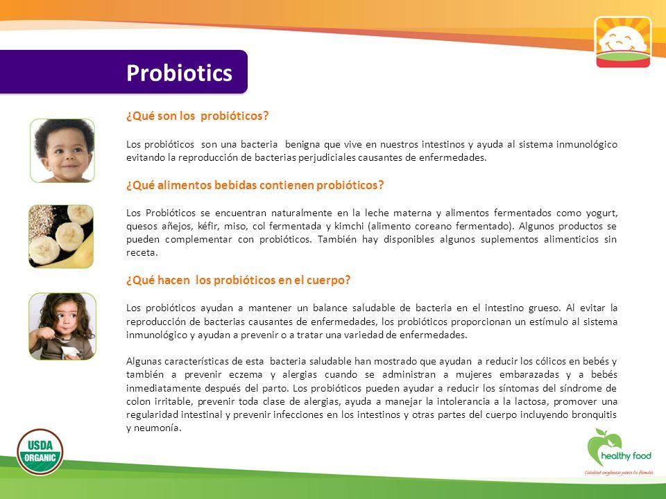 Probiotics ¿Qué son los probióticos