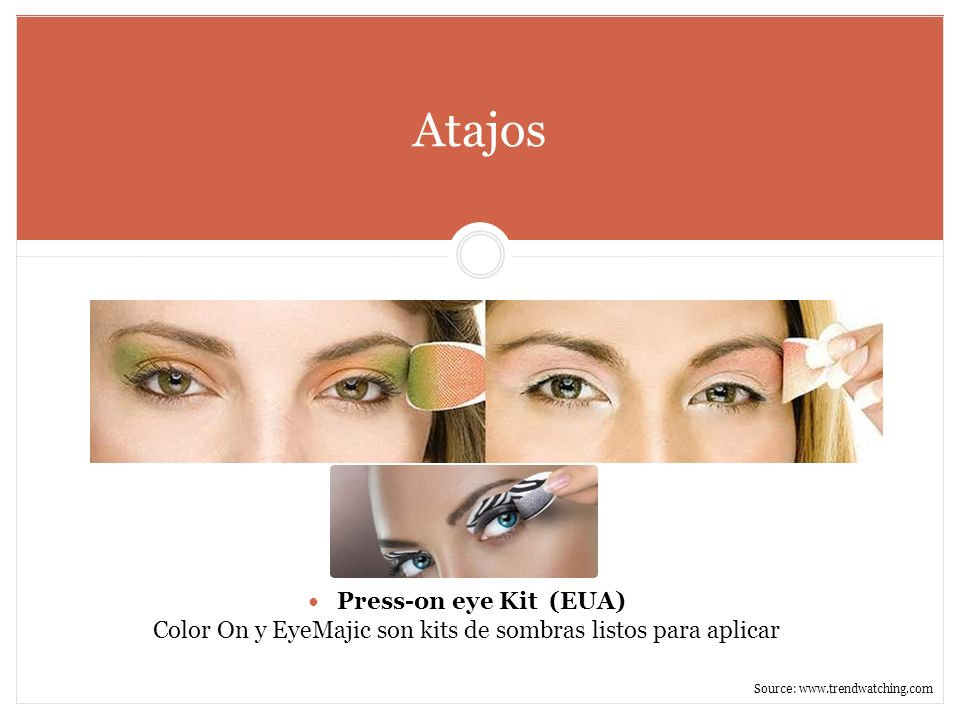 Color On y EyeMajic son kits de sombras listos para aplicar