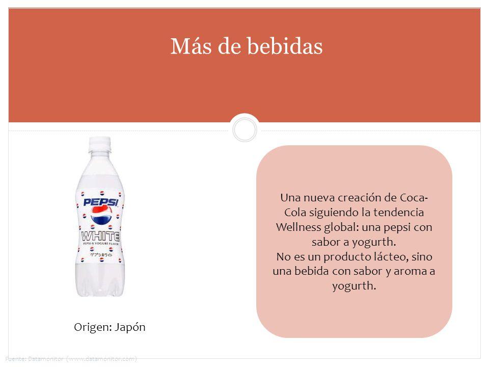 No es un producto lácteo, sino una bebida con sabor y aroma a yogurth.