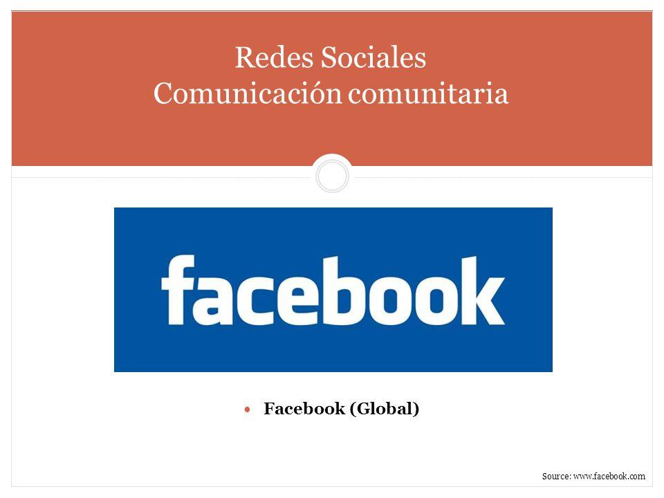 Redes Sociales Comunicación comunitaria