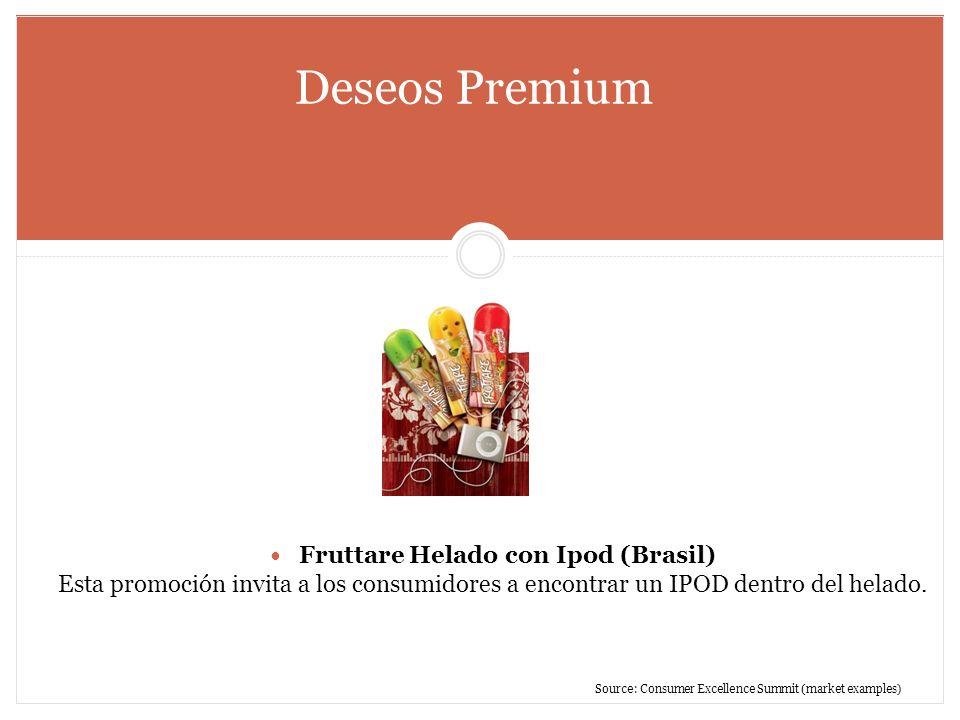 Fruttare Helado con Ipod (Brasil)