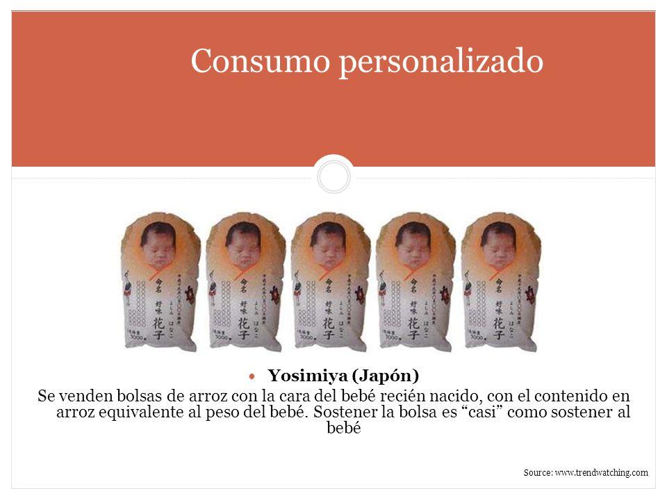 Consumo personalizado