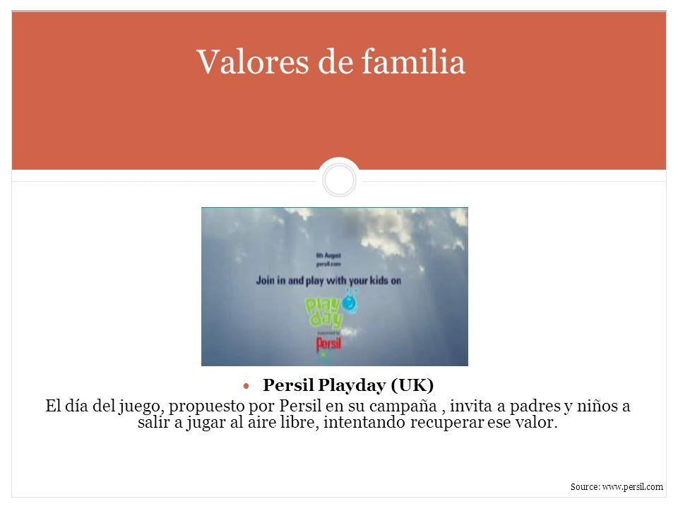 Valores de familia Persil Playday (UK)