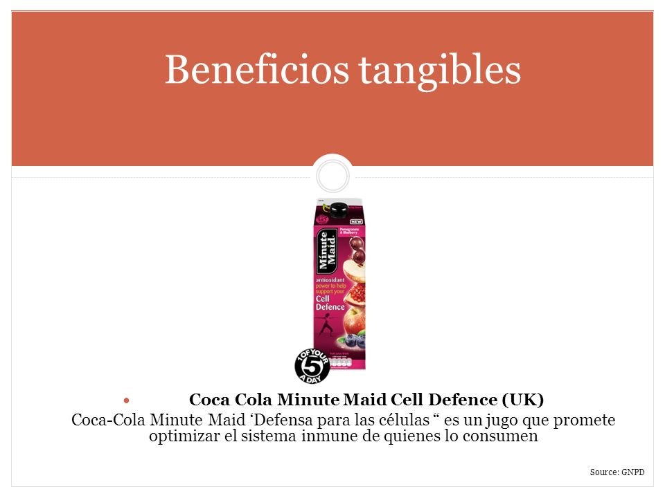 Coca Cola Minute Maid Cell Defence (UK)