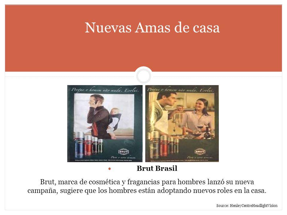 Nuevas Amas de casa Brut Brasil.