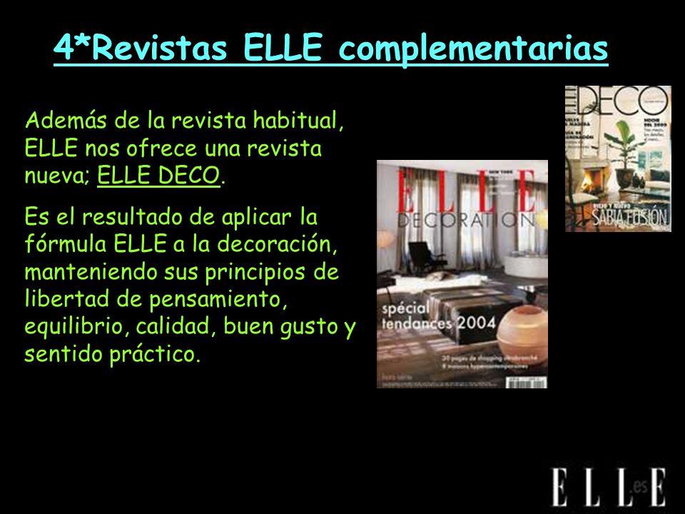 *4*Revistas ELLE complementarias