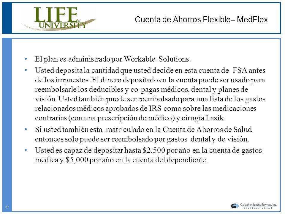 Cuenta de Ahorros Flexible– MedFlex