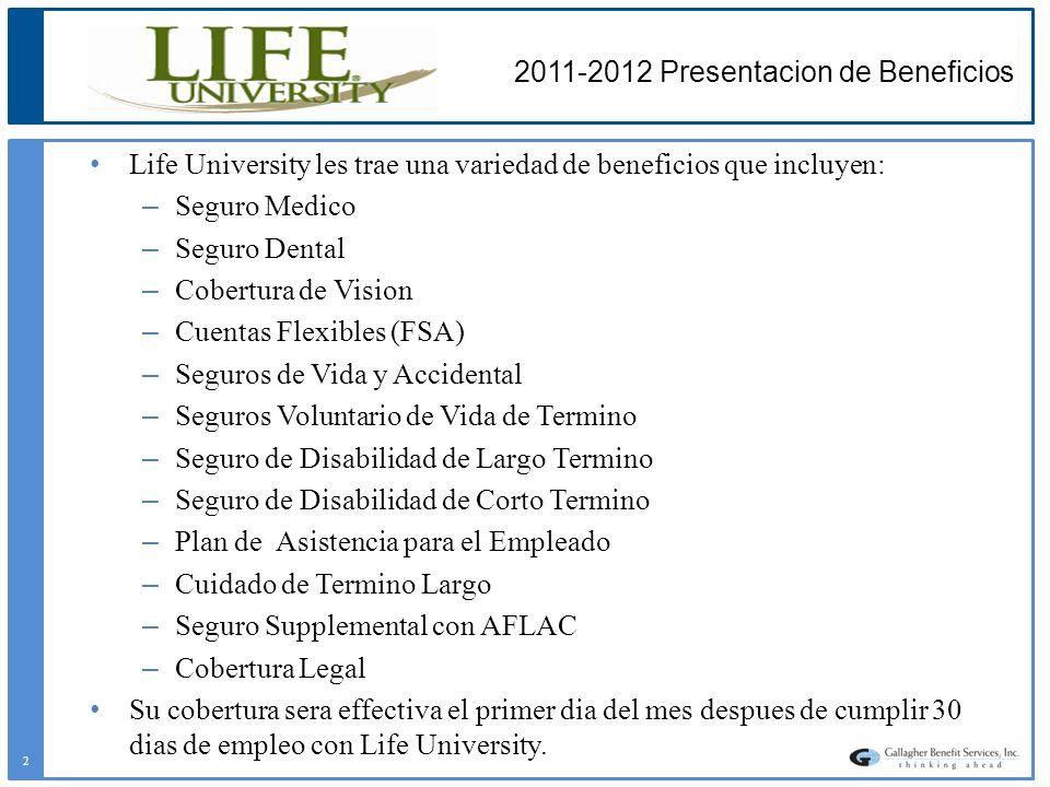 2011-2012 Presentacion de Beneficios