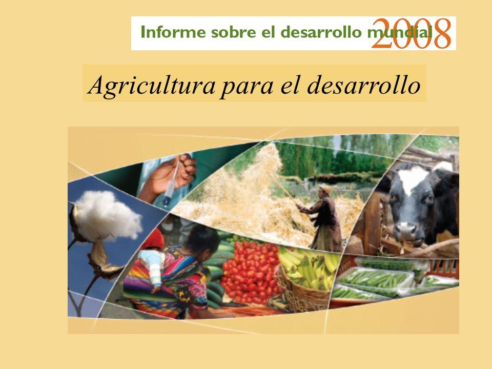 Agricultura para el desarrollo