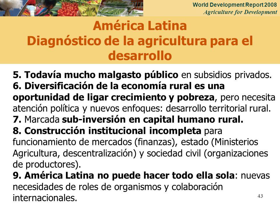 Diagnóstico de la agricultura para el desarrollo
