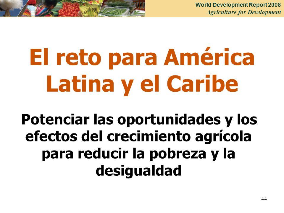 El reto para América Latina y el Caribe