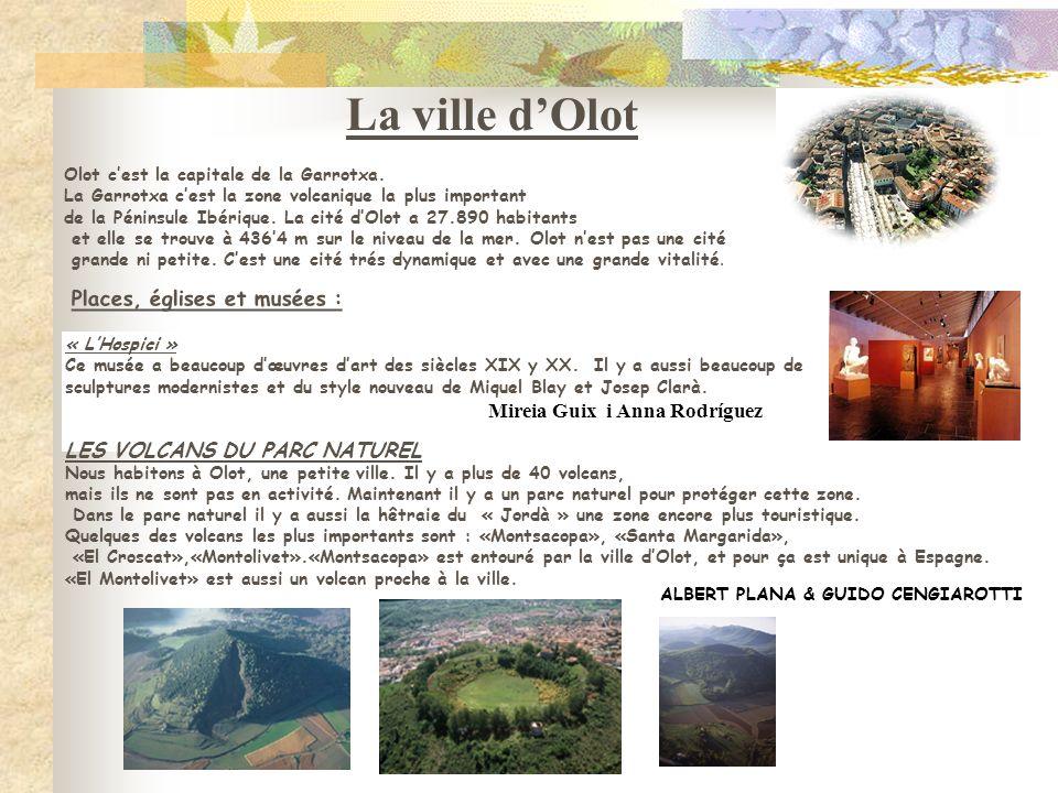 La ville d'Olot ALBERT PLANA & GUIDO CENGIAROTTI
