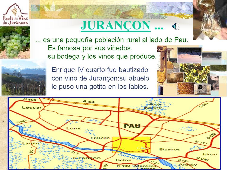 ... es una pequeña población rural al lado de Pau.