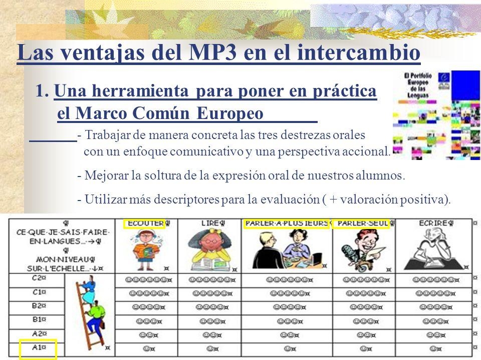 Las ventajas del MP3 en el intercambio