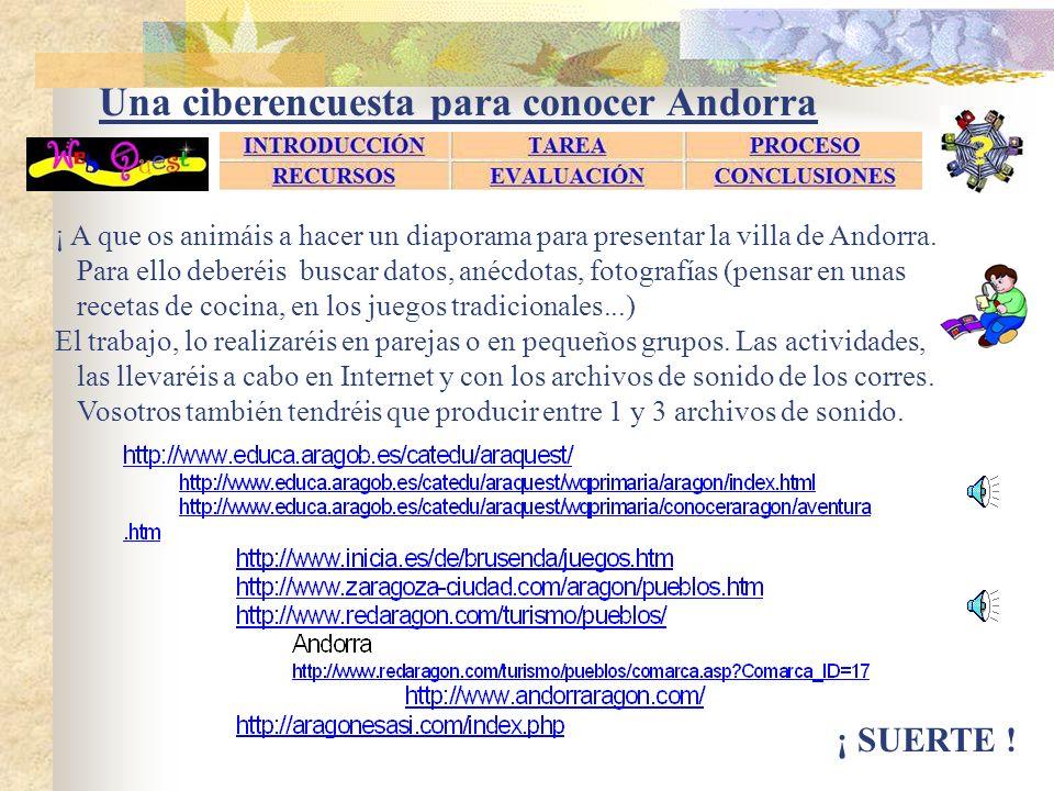 Una ciberencuesta para conocer Andorra