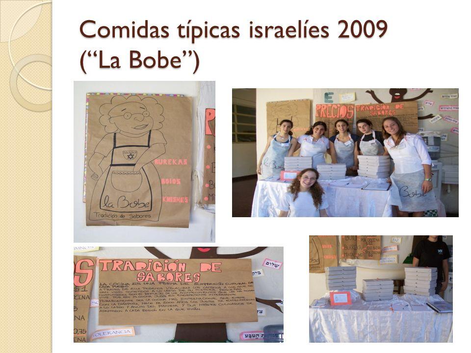 Comidas típicas israelíes 2009 ( La Bobe )